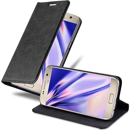 Cadorabo Hülle Für Samsung Galaxy S7 In Nacht Schwarz Elektronik