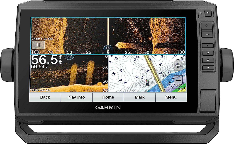 "Garmin ECHOMAP UHD 93sv, 9"" Keyed-Assist Touchscreen Chartplotter with U.S. LakeVü g3 and GT54UHD-TM transducer : Electronics"