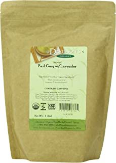 Davidson's Tea Bulk, Earl Grey with Lavender, 16 Ounce