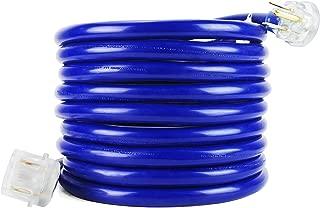 NEMA 6-50 Welder Extension Cords, STW 8AWG3C, 40 Amp 25 Ft 220v, Heavy Duty, Blue