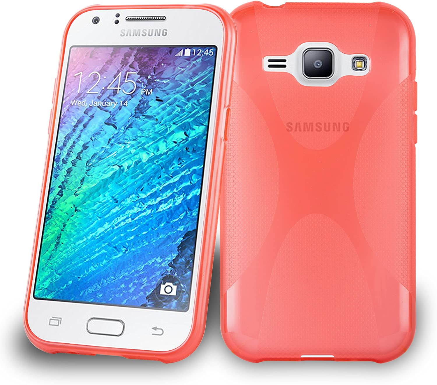 Cadorabo Silicone Case for Samsung Galaxy J1 5 Inferno 2015 Re Challenge the lowest price of San Francisco Mall Japan ☆