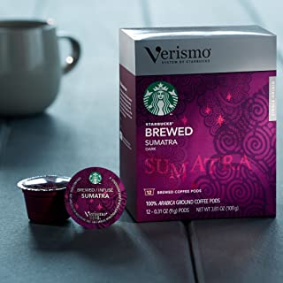 Starbucks Verismo Pods 96 Count (Sumatra)
