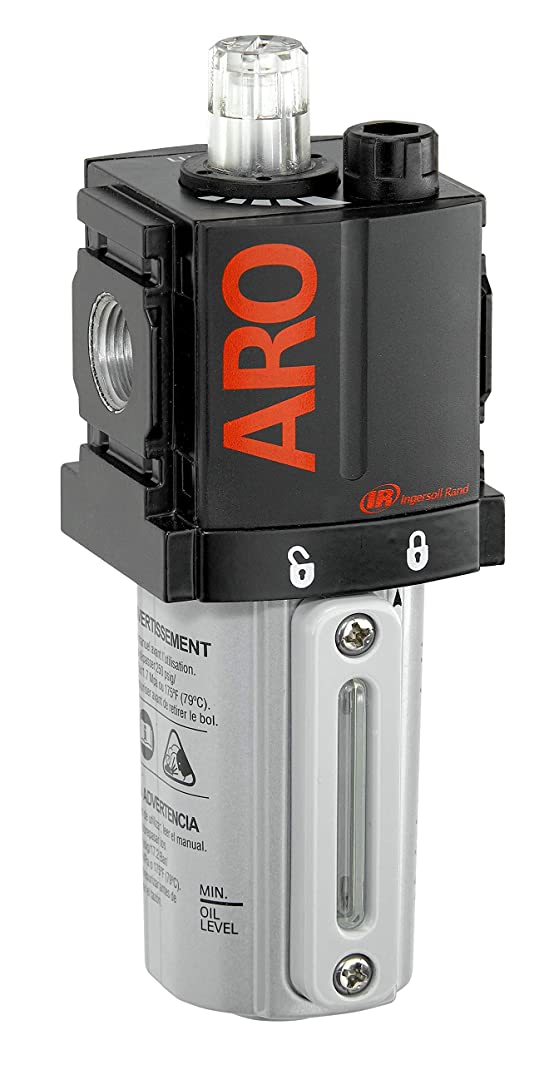 ARO L36121-100-VS Air Line Lubricator, 1/4