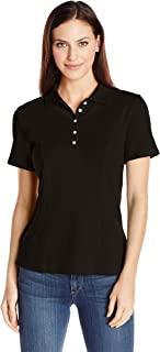 Riders by Lee Indigo Women's Short-Sleeve Polo Shirt