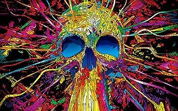 "NewBrightBase Psychedelic Trippy Art Fabric Cloth Rolled Wall Poster Print 40""x24""(100cmx60cm) C"