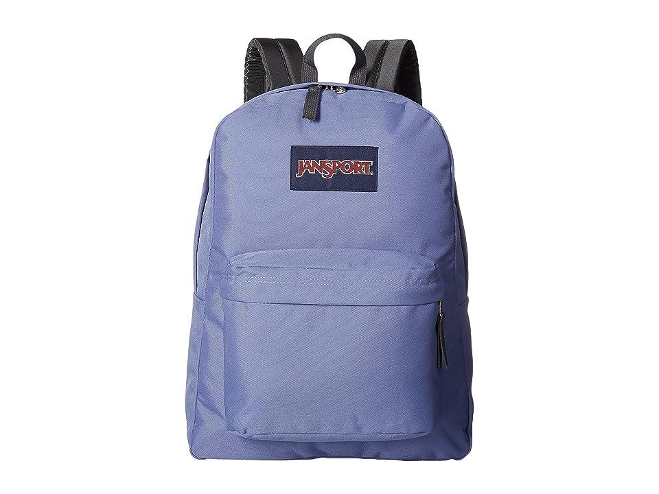 JanSport SuperBreak(r) (Bleached Denim) Backpack Bags