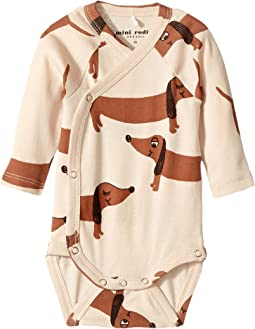 mini rodini - Dog Wrap Bodysuit (Infant)