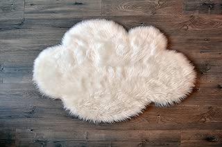 little p cloud rug