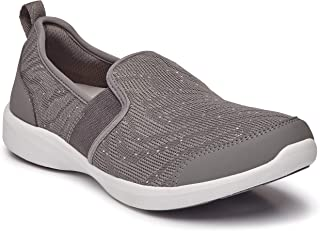 Women's Sky Roza Slip-on - Ladies Walking Shoes with Concealed Orthotic Arch Support