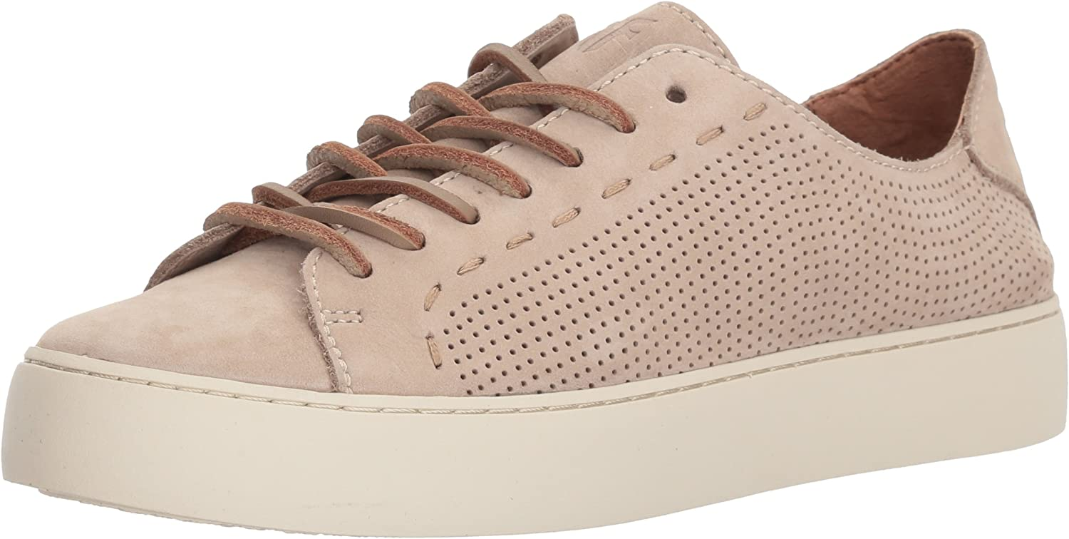 FRYE Woherren Lena PERF Low LACE Turnschuhe, Taupe, Taupe, 8 M US  das Neueste