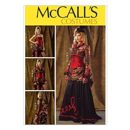 49aeddad790 McCall s Patterns 6911 Patron de robes pour femme Multicolore Tailles 34 à  42