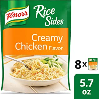 Knorr Rice Sides For A Tasty Rice Side Dish Creamy Chicken No Artificial Flavors 5.7 Oz (Pack of 8)