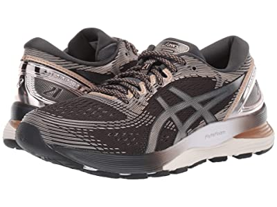 ASICS GEL-Nimbus(r) 21 (Graphite Grey/Frosted Almond) Women