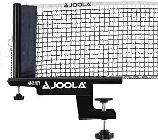 "JOOLA Premium Avanti Table Tennis Net and Post Set - Portable and Easy Setup 72"" Regulation Size Ping Pong Screw On Clamp Net, White/Black (31009)"