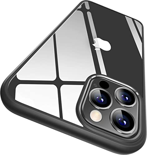 CASEKOO Crystal Clear Designed for iPhone 12 Pro Max Case, [Not Yellowing] [Military Grade Drop Tested] Shockproof Pr...