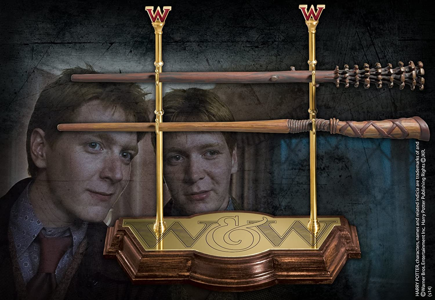 producto de calidad Harry Harry Harry Potter Wand Collection Weasley Twins Noble Replicas  edición limitada