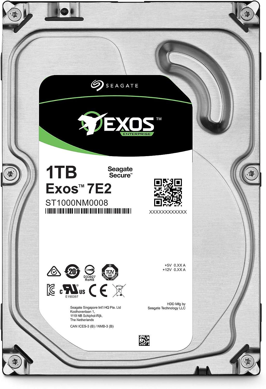 Seagate Exos X18 Hyperscale SATA 6 Go//s CMR 3,5 Disque dur interne d/'entreprise HDD 4 KB FastFormat Faible Latence avec Cache am/élior/é R/éf/érence SATA 18 To 7200 TR//Min 512e ST18000NM000J