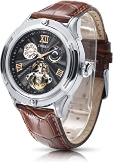 Time100 Mens Classic Business Mechanical Watch Fashion Self-Winding Automatic Watch for Men