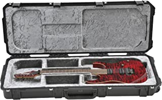 SKB Injection Molded Electric Guitar Case, Open Cavity, TSA Latches, with Wheels (3i-4214-OP)