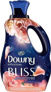 P&G ダウニー インフュージョン 柔軟剤 ブリス/アンバー&ローズ (アンバーとローズベースの洗練されたフローラル系の香り) 1.66L