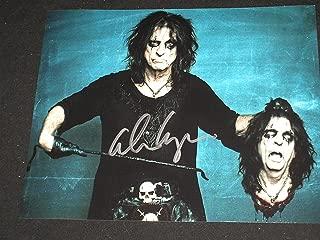 ALICE COOPER Signed Metal Rock Legend 8x10 Photo Autograph BECKETT BAS COA D