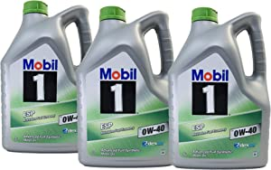 Mobil Motor Lubricant Oil ESP 0W-40 Dexos Pack Litres