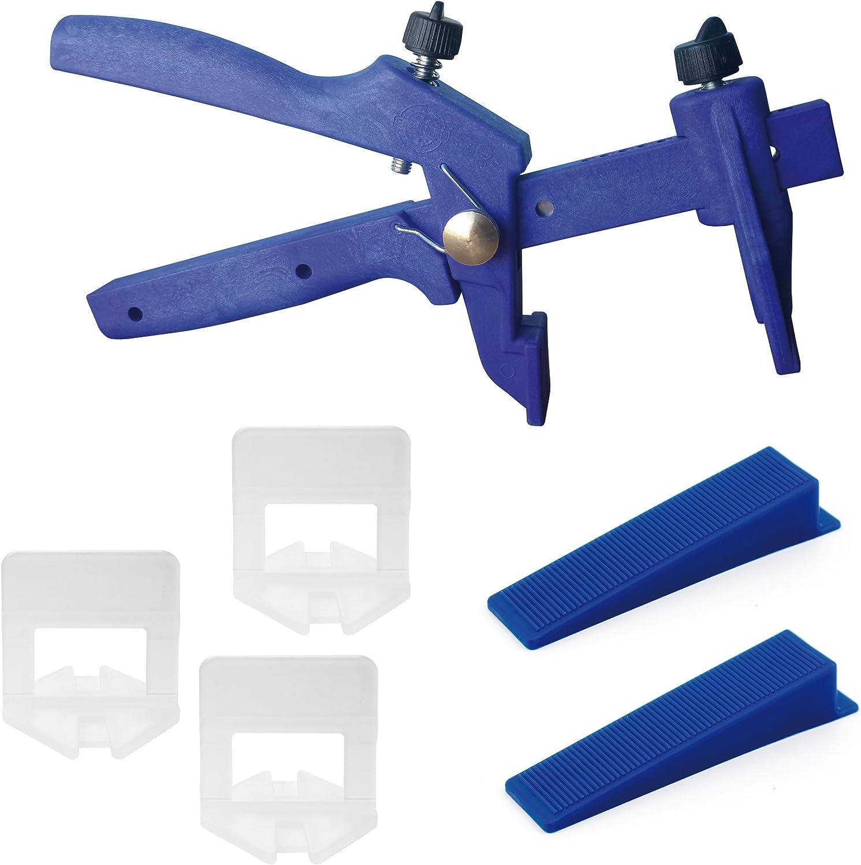 Lantelme® Fliesennivelliersystem 1mm Midi Set 200 Stück Stück Stück B017IR9FWG | Neue Sorten werden eingeführt  4d3982
