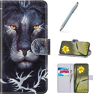 URFEDA Compatibel met Samsung Galaxy S9 Case Portemonnee Retro Lederen PU Cover Lavish Glanzend Folioblad Flip Magnetische...