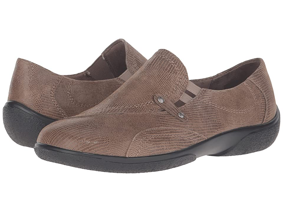 Walking Cradles Amp (Mid Taupe Patent Lizard) Women