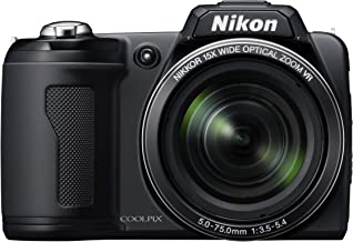 Nikon Coolpix L110 12.1MP Digital Camera with 15x Optical Vibration Reduction (VR) Zoom and 3.0-Inch LCD (Black)