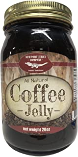 Gourmet Coffee Jelly 20oz Handcrafted Small Batch (FAT FREE, GLUTEN FREE & ALL NATURAL)