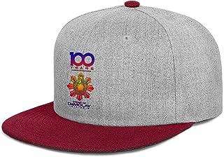 QILI 100 Years a Century of Camaraderie Demolay Men Women Cool Flat Bill Dad Hat Adjustable Snapback Golf Cap