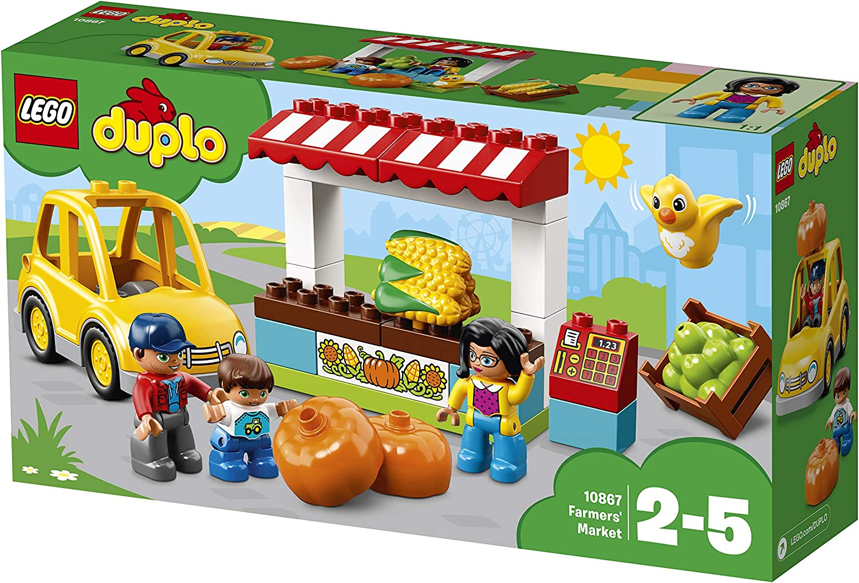 LEGO 10867 DUPLO Town Farmers' Market Building Set, Large Building Bricks Farm Toy for Kids 25
