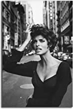 Poster #06 Linda Evangelista 90s Model Pin Up Erotic Poster 36x48 inch More Sizes Available Canvas Frame