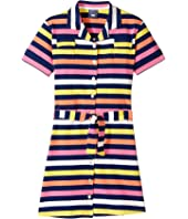 Toobydoo - Short Sleeve Belted Shirtdress (Toddler/Little Kids/Big Kids)