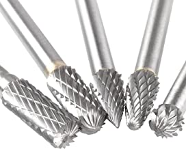 Carbide Burr Set with 1/4