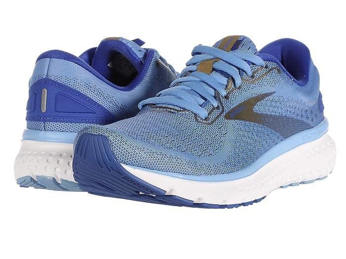 Brooks  Glycerin 18 (Cornflower/Blue/Gold) Womens Running Shoes