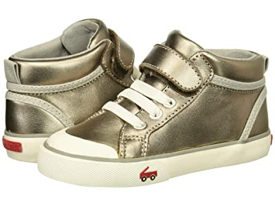 See Kai Run Kids Peyton (Toddler/Little Kid) (Pewter Leather) Girls Shoes