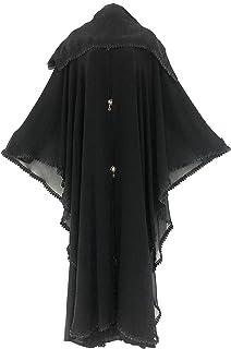 Women Abaya Nidha with Chiffon Material Black Color Modern Design