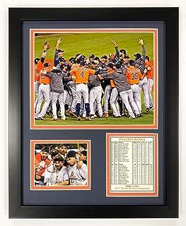Legends Never Die Houston Astros - 2017 World Series Champs - Celebration - Framed 12