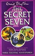 Puzzle for the Secret Seven, Secret Seven Fireworks and Good Old Secret Seven by Enid Blyton - Paperback