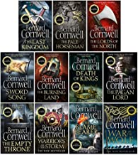 The Last Kingdom Series 11 Books Collection Set (1-11)(Death of Kings,Warriors of the Storm,The Pagan Lord,The Empty Thron...