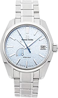 Grand Seiko Grand Seiko Spring Drive Spring Drive Blue Dial Mens Watch SBGA387 (Certified Pre-Owned)