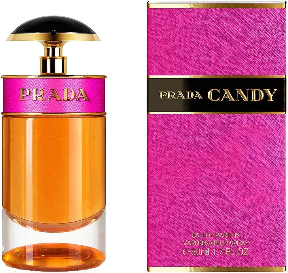 Prada candy eau de parfum per donna, 50 ml 10001712