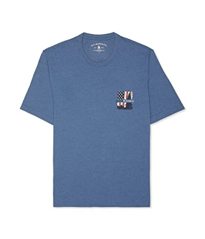 G.H. Bass & Co. Big and Tall Short Sleeve Graphic Print T-shirt