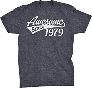 40th Birthday Gift T-Shirt - Awesome Since 1979