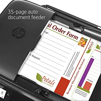 HP OfficeJet 3830 All-in-One Wireless Printer, HP Instant Ink, Works with Alexa (K7V40A)
