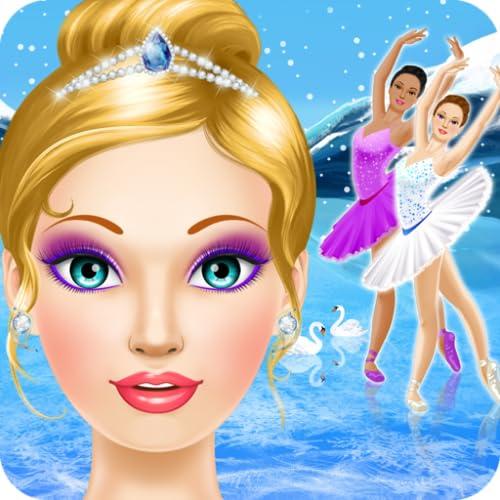 Ballerina Salon: Ballett Makeup und Dress Up Spiele für Mädchen
