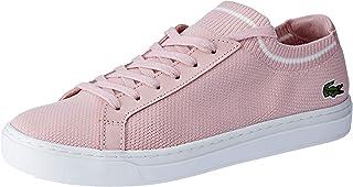 Lacoste Women's LA PIQUÉE 119 1 Women's Fashion Shoes, LT PNK/WHT