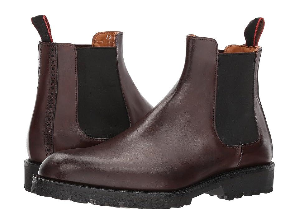 Allen Edmonds Tate Chelsea Boot (Brown Burnished Calf) Men